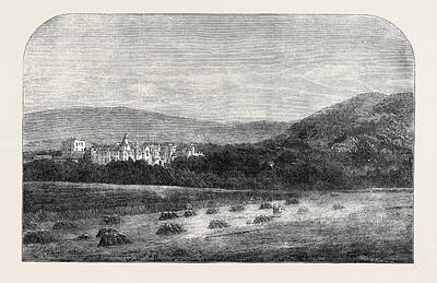 Her Majestys Palace At Balmoral Poster by English School