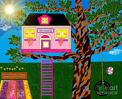 Her Tree House Poster
