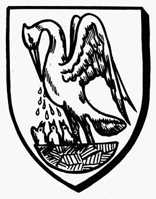 Heraldry Pelican Poster by Granger
