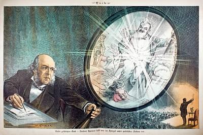 Herbert Spencer's Social Philosophy Poster by Paul D Stewart