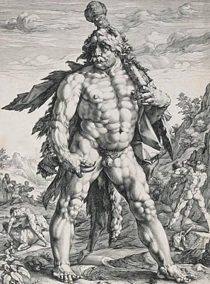Hercules Poster by Hendrik Goltzius