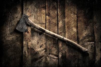 Nature Poster featuring the photograph Wood Cutter by Aaron Berg