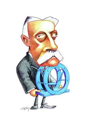 Hermann Von Helmholtz Poster by Gary Brown