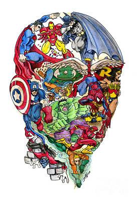 Heroic Mind Poster