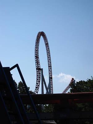 Hershey Park - Storm Runner Roller Coaster - 12124 Poster