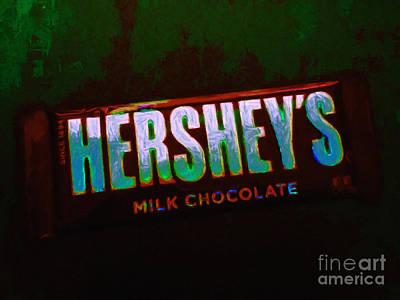 Hershey's Chocolate Bar Poster