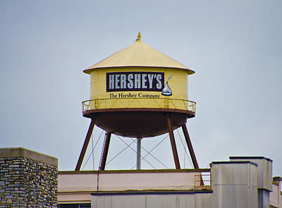 Hershey's Water Tower Poster by Bill Cannon