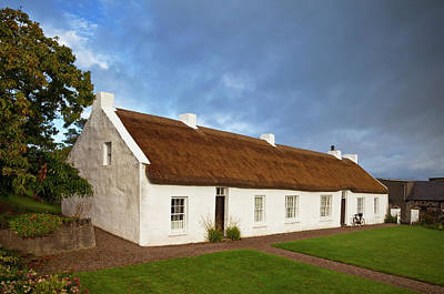 Hezletts Picturesque Thatched Cottage Poster by Panoramic Images
