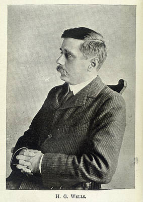H.g.wells Poster by British Library