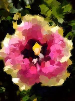 Hibiscus Acrylic Poster