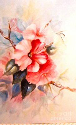 Hibiscus Poster by Patricia Schneider Mitchell