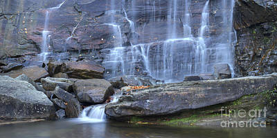 Hickory Nut Falls Waterfall Poster