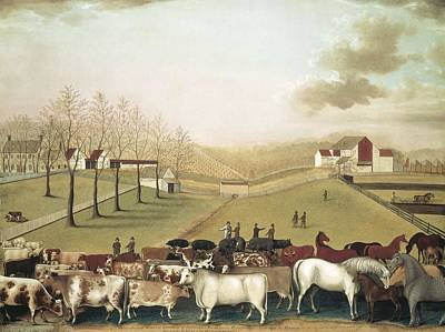 Hicks, Edward 1780-1849. The Cornell Poster