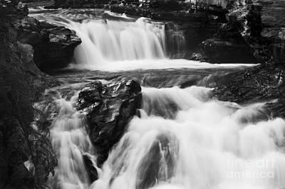 Hidden Falls Sheep River 1 Poster by Bob Christopher