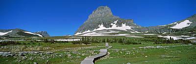 Hidden Lake Nature Trail At Us Glacier Poster