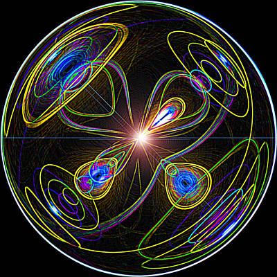 Higgs Boson Poster by Samuel Sheats