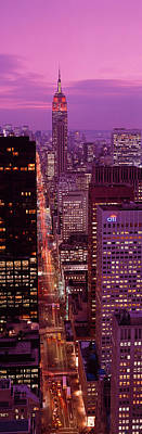 High Angle View Of A City, Fifth Poster by Panoramic Images