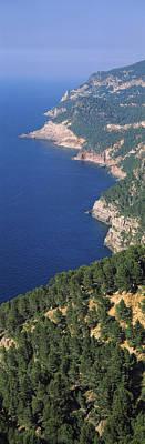 High Angle View Of A Coastline, Mirador Poster