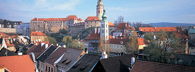High Angle View Of A Town, Cesky Poster by Panoramic Images