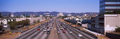 High Angle View Of Cars On The Road Poster by Panoramic Images