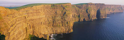 High Angle View Of Cliffs, Cliffs Of Poster by Panoramic Images