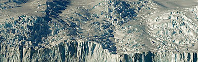 High Angle View Of Snow Covered Poster by Panoramic Images