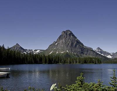 High Mountain Lake Poster