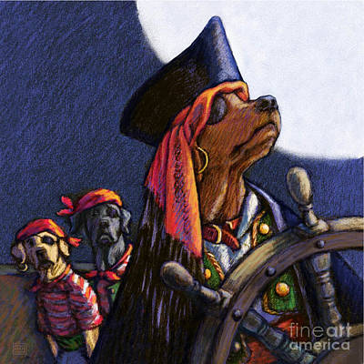 High Seas Poster by Kathleen Harte Gilsenan