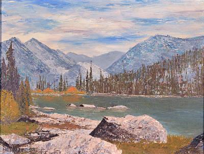 High Sierra Lake Poster