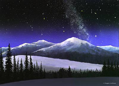 High Sierra Night Poster