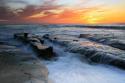 High Tide Sunset 2 Poster