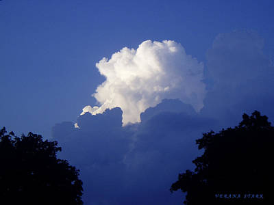 High Towering Clouds Poster