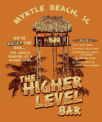 Higher Level Poster by Jim Baldwin