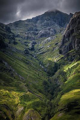 Highland Crevasse Poster