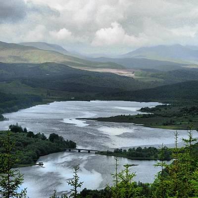 Highland Loch At Lochaber Poster