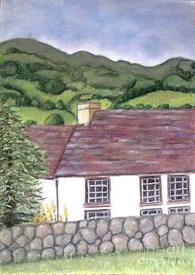Highland Farmhouse Poster