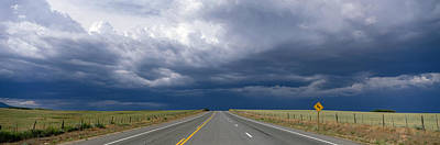 Highway Near Blanding, Utah, Usa Poster by Panoramic Images