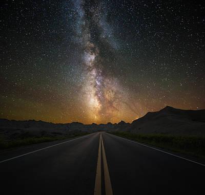 Highway To Heaven Poster by Aaron J Groen