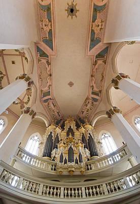 Hildebrandt Organ Naumburg Poster
