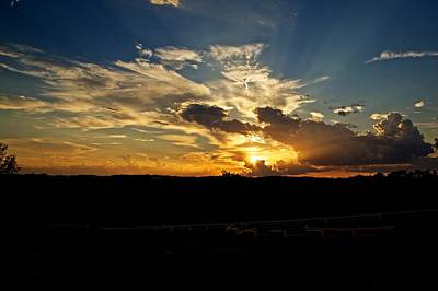 Hill Country Sunset Poster