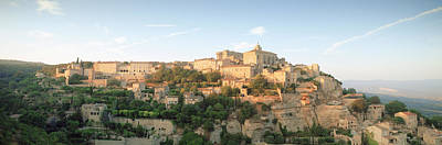 Hilltop Village, Gordes, Vaucluse Poster by Panoramic Images