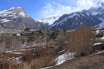 Himalayan Town Of Muktinath Poster