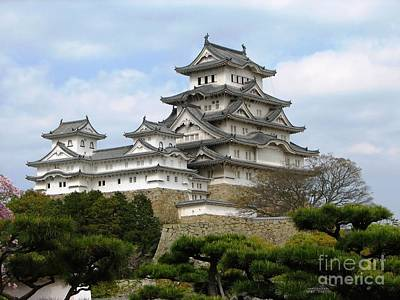 Himeji Castle - Hyogo Prefecture Poster by Pg Reproductions