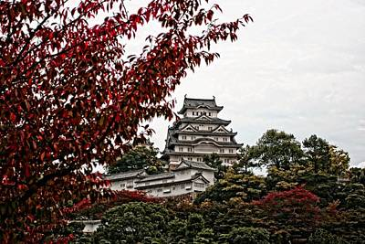 Himeji Castle In The Fall Poster