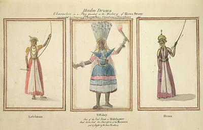 Hindoo Drama Poster by British Library