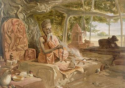 Hindu Fakir, From India Ancient Poster