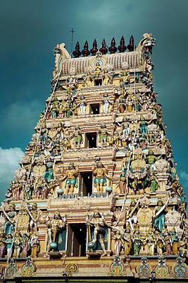 Hindu Temple Gopuram Poster by Paul Kennedy