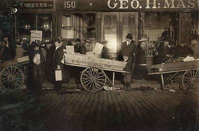 Hine Tomato Vendor, 1909 Poster