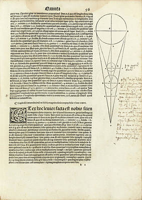 Hipparchus In Ptolemy's Almagest (1515) Poster