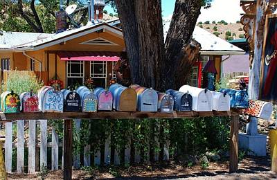 Hippies Mailboxes Poster